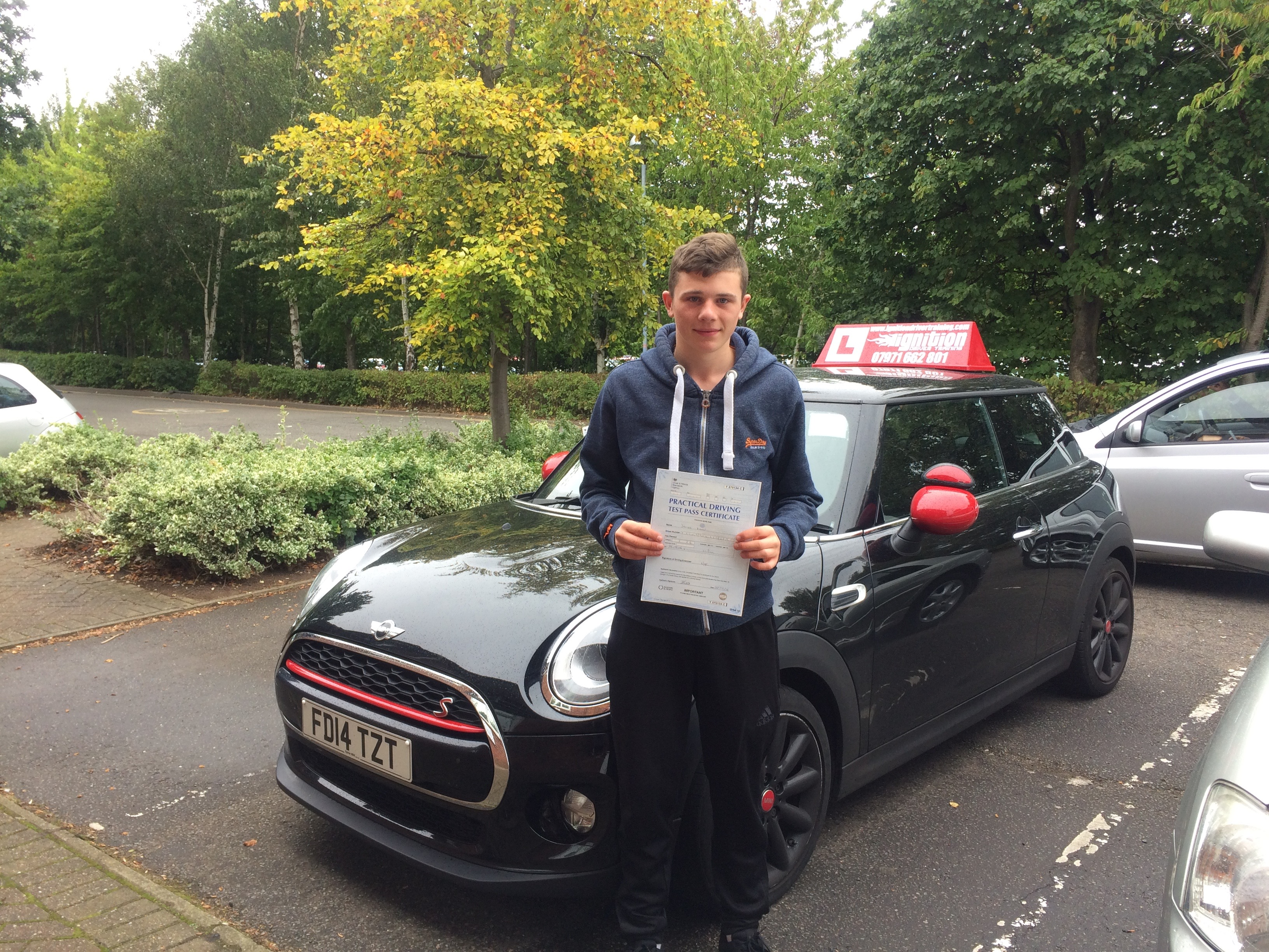 First Time Driver >> James Has Passed His Driving Test First Time Ignition