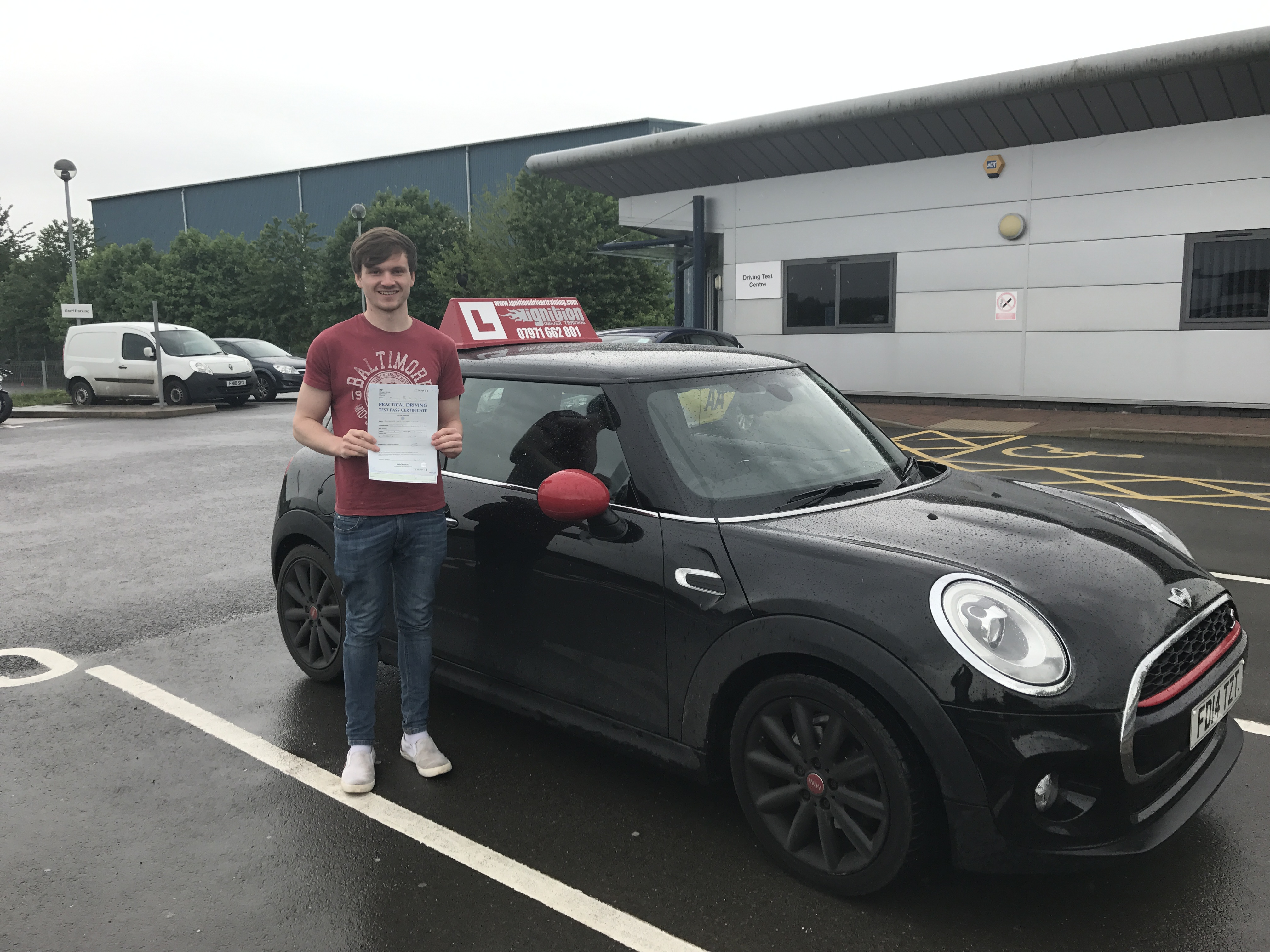 Congratulations Alex on passing first time!