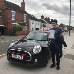 Its a first time pass for Adam!