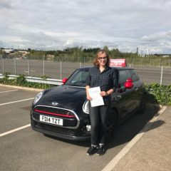 Emily has passed first time!