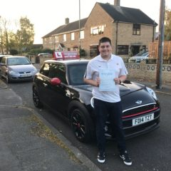 Ross has passed his driving test!