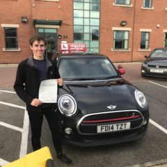 Its a first time pass for Simon!