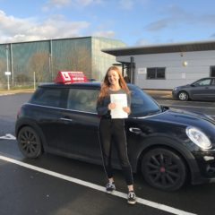 Sophie has passed first time!