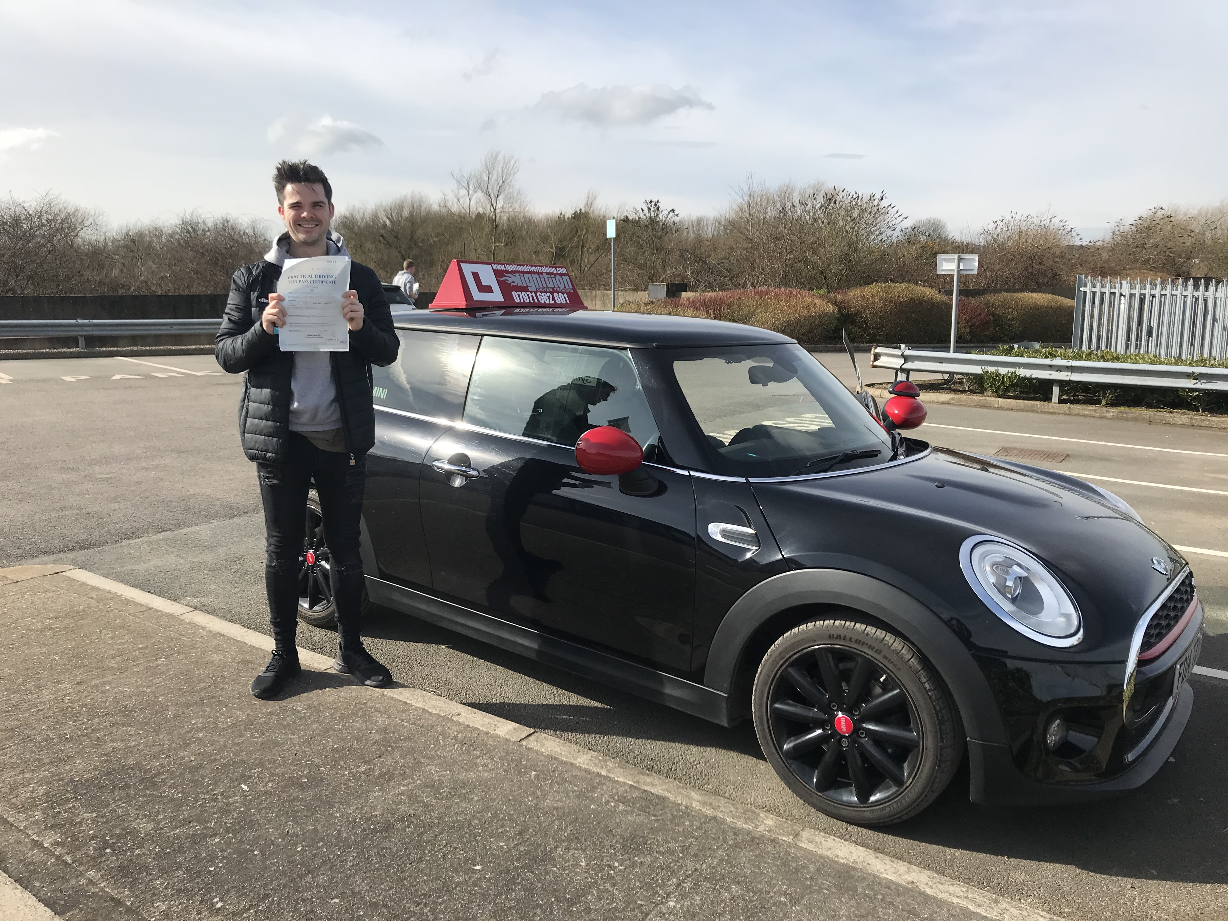 Kyle has passed first time!