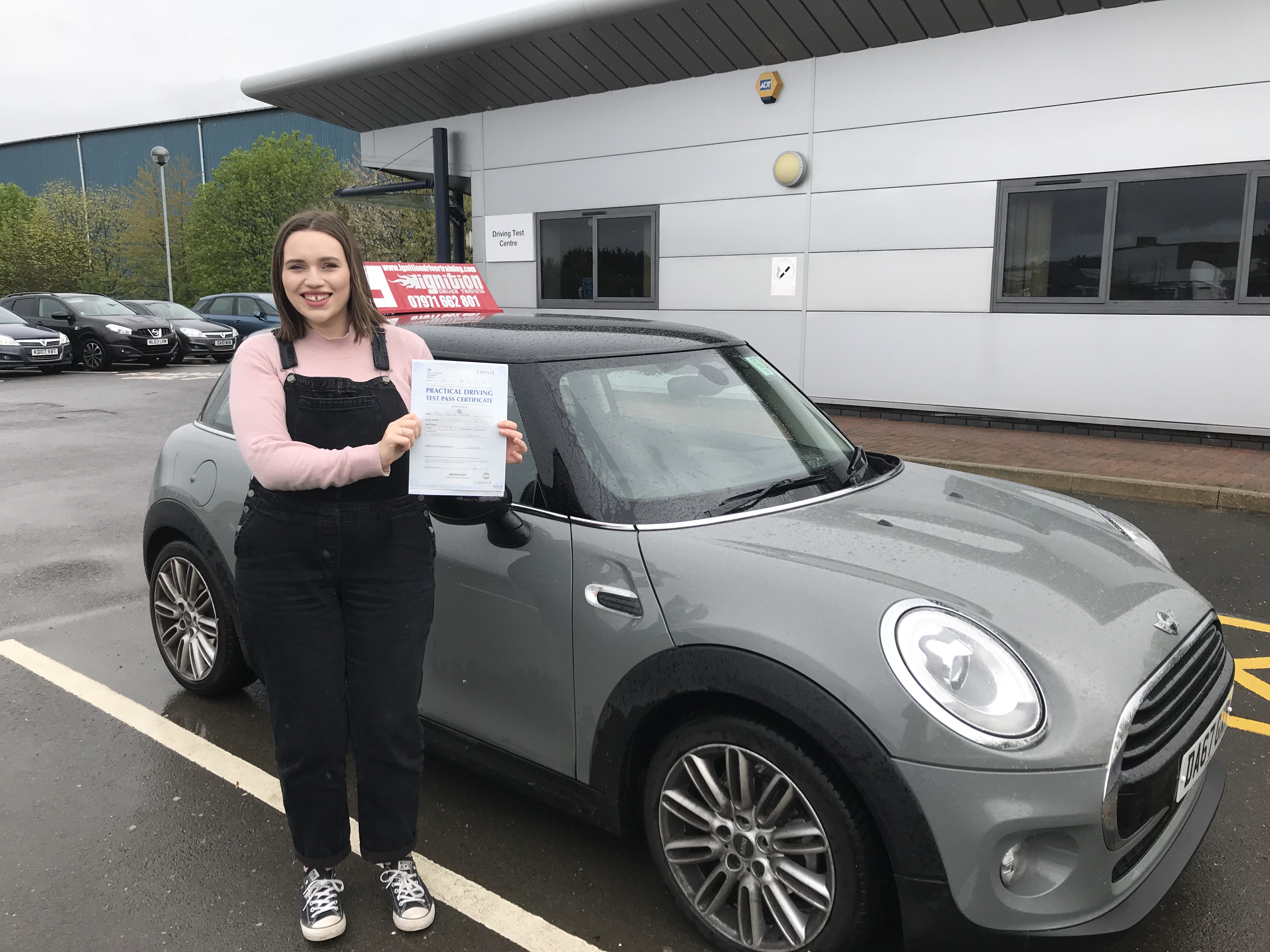 Jo has passed her test!