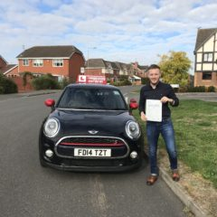 Sonny's passed first time!