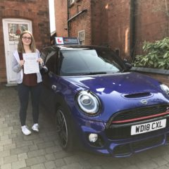 Rosie has passed first time!