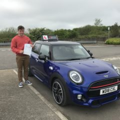 Jake has passed first time!