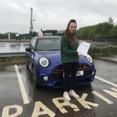 Lily has passed first time!