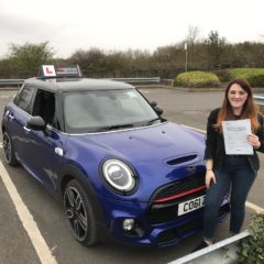 Daytona passed her test!