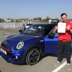 Elliot passed first time!