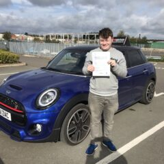 Matthew passed first time!