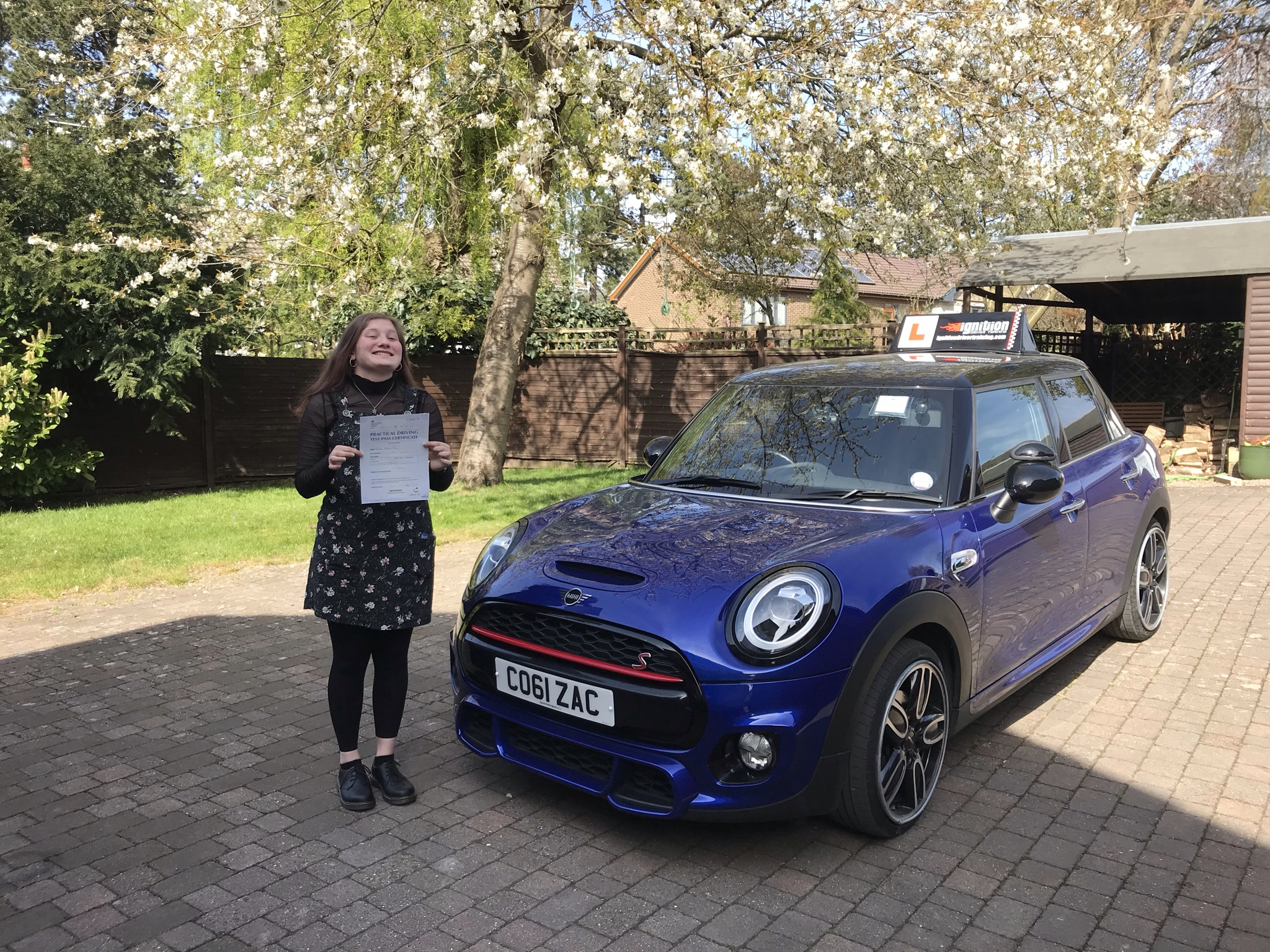 Olivia Passed First Time!