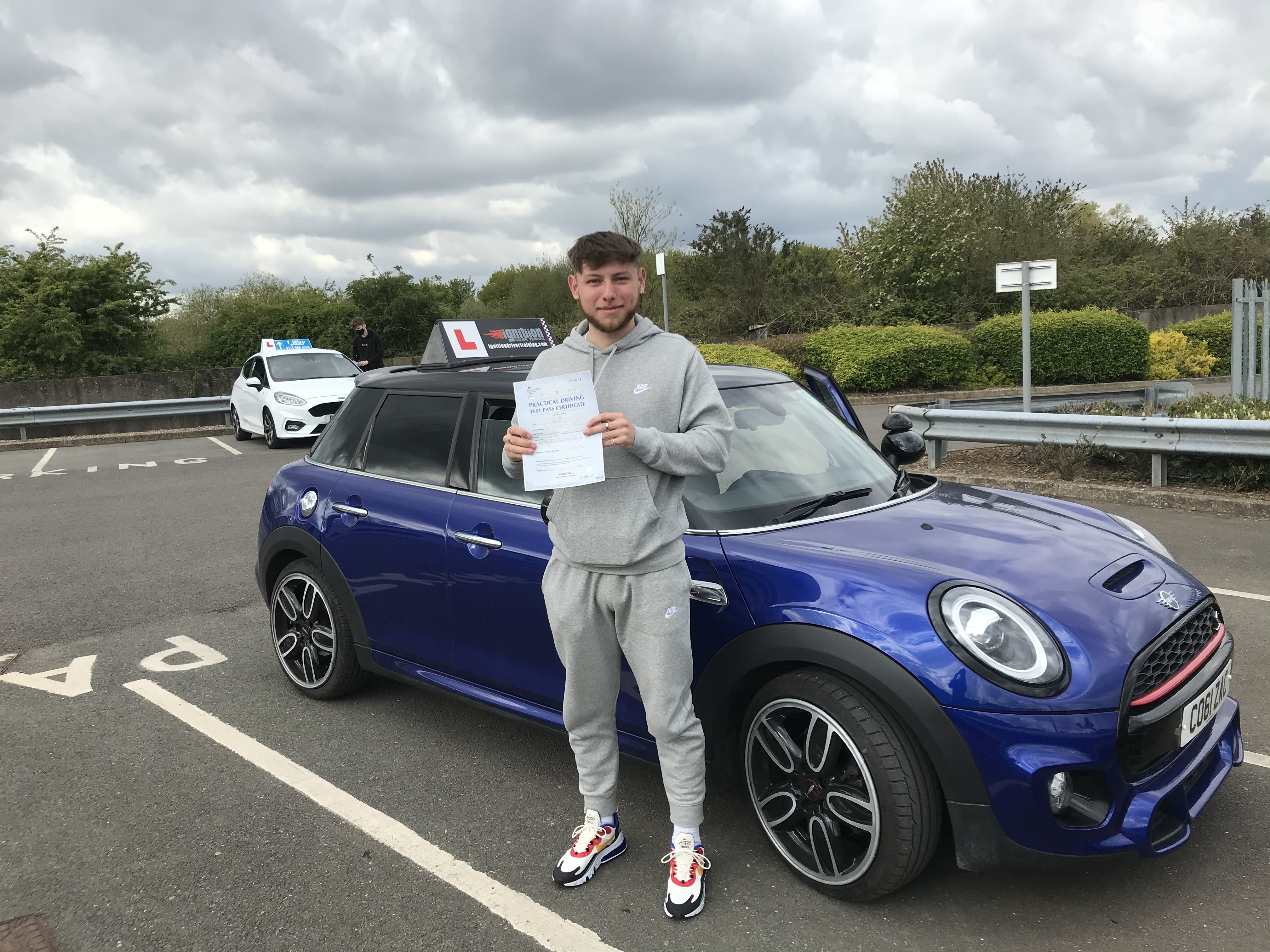 Lewis Passed First Time!