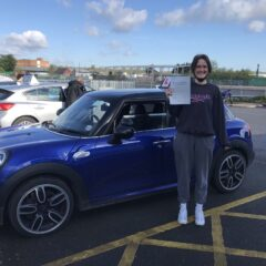 Niamh Passed First Time!