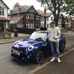 Oliver passed first time!